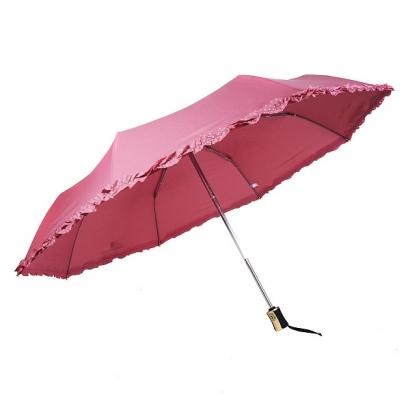 Женский зонт Три слона 118-8 ( Однотонный  )
