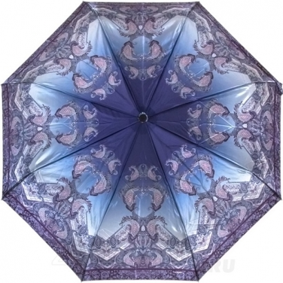 Женский зонт Три слона 884-34 ( Сатин  )