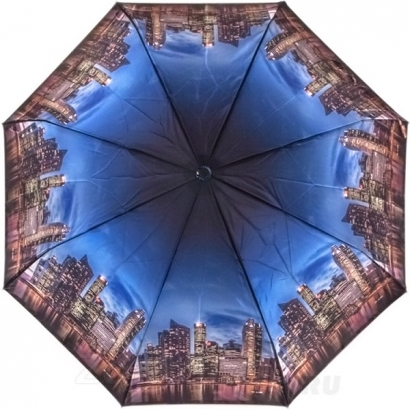 Женский зонт Три слона 884-35 ( Сатин  )