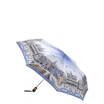 Женский зонт Три слона 133-3 ( Brussels, Belgium) Облегченный