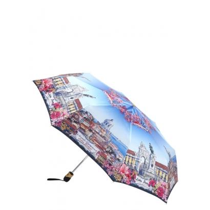 Женский зонт Три слона 133-4 ( Lisbon, Portugal ) Облегченный