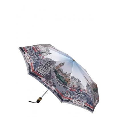 Женский зонт Три слона 133-5 ( London, Anglia) Облегченный